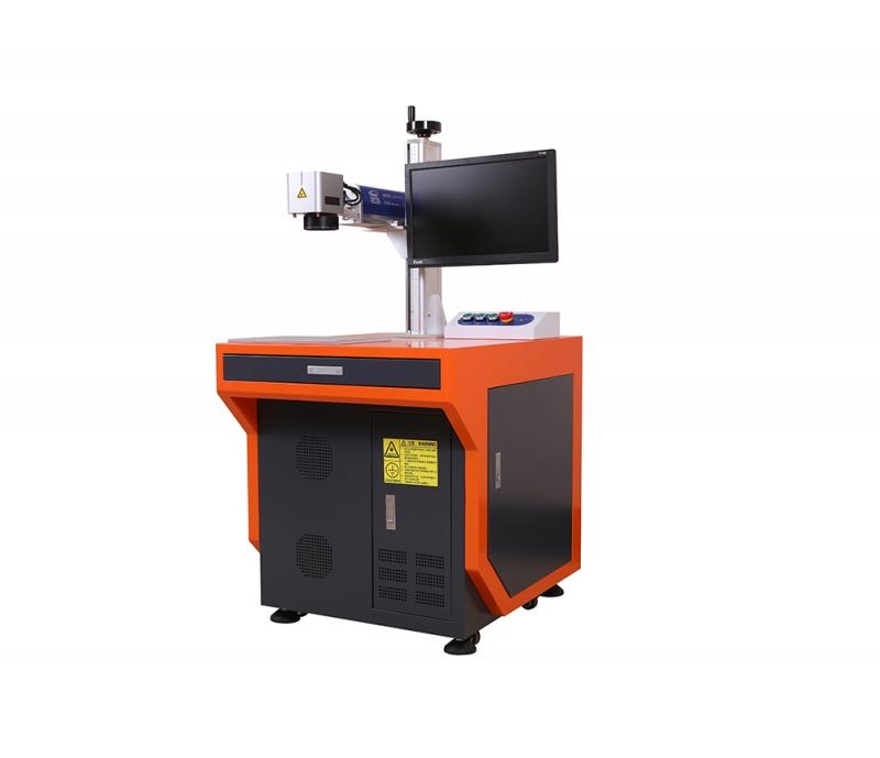 飞行光纤激光打标机在塑料管材上应用